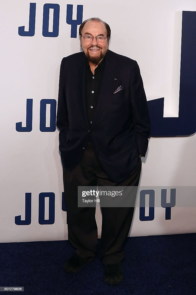 James Lipton attends the 'Joy' premiere at Ziegfeld Theater on December 13, 2015 in New York City.