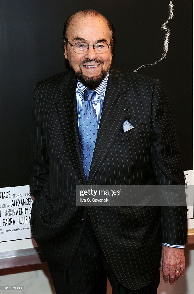 <a gi-track='captionPersonalityLinkClicked' href=/galleries/search?phrase=James+Lipton&family=editorial&specificpeople=240724 ng-click='$event.stopPropagation()'>James Lipton</a> attends the 'Nebraska' special screening at Paris Theater on November 6, 2013 in New York City.