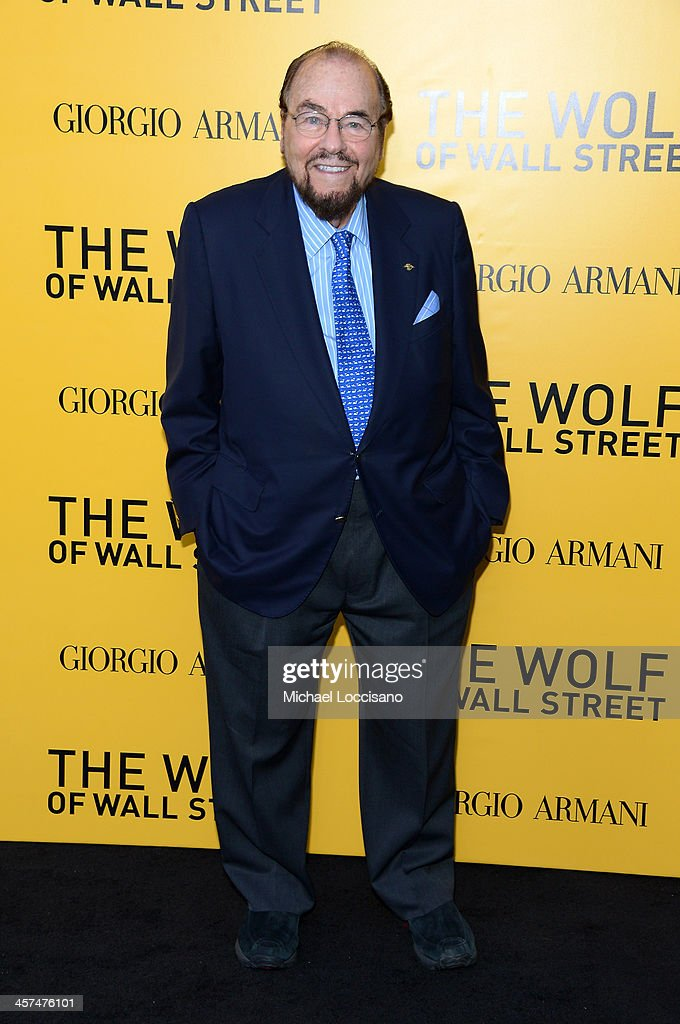 <a gi-track='captionPersonalityLinkClicked' href=/galleries/search?phrase=James+Lipton&family=editorial&specificpeople=240724 ng-click='$event.stopPropagation()'>James Lipton</a> attends the 'The Wolf Of Wall Street' premiere at the Ziegfeld Theatre on December 17, 2013 in New York City.