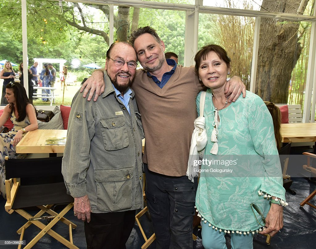 James Lipton, Jason Binn, and Kedakai Lipton attend as Jason Binn hosts his Annual Memorial Day Party with DuJour Media's Leslie Farrand and Moby's sponsored by Rolls-Royce and Empire CLS on May 29, 2016 in East Hampton.