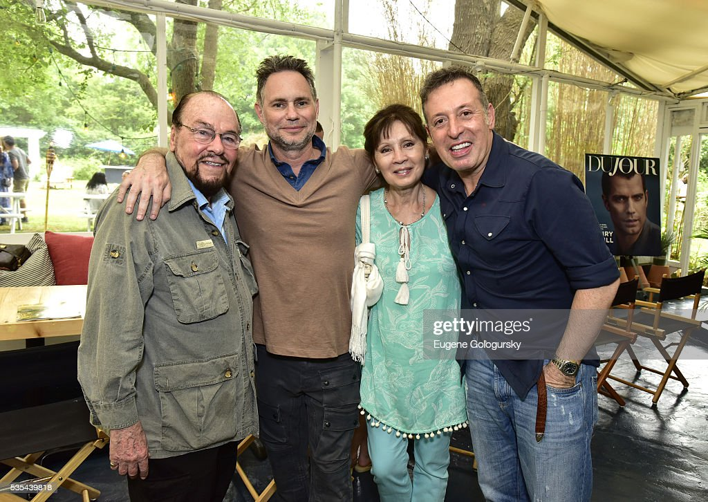 James Lipton, Jason Binn, Kedakai Lipton and Massimo Caronna attend as Jason Binn hosts his Annual Memorial Day Party with DuJour Media's Leslie Farrand and Moby's sponsored by Rolls-Royce and Empire CLS on May 29, 2016 in East Hampton.