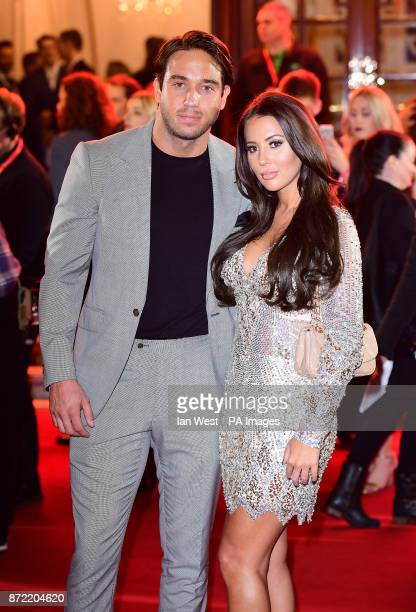 James Locke and Yazmin Oukhellou attending the ITV Gala held at the London Palladium Picture date Thursday November 9 2017 See PA story SHOWBIZ ITV...
