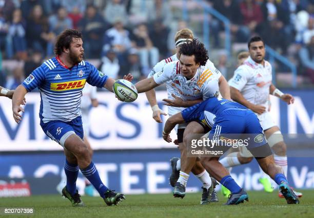 James Lowe of Chiefs during the Super Rugby Quarter final between DHL Stormers and Chiefs at DHL Newlands on July 22 2017 in Cape Town South Africa