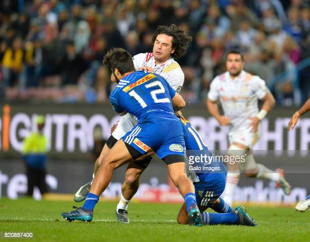 James Lowe of the Chiefs during the Super Rugby Quarter final between DHL Stormers and Chiefs at DHL Newlands on July 22 2017 in Cape Town South...