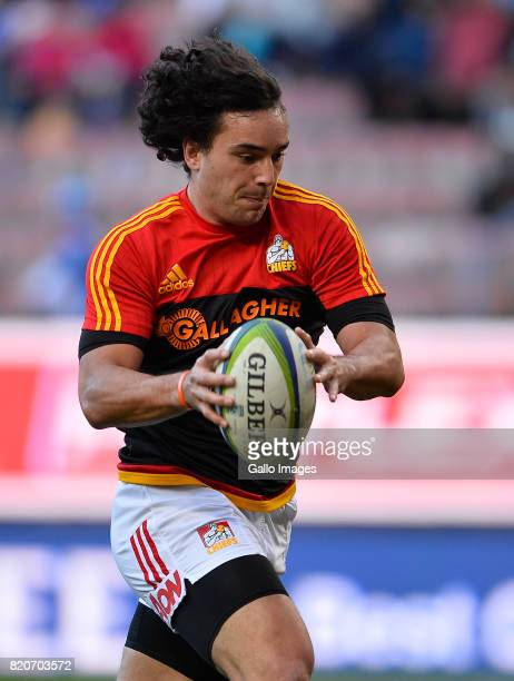 James Lowe of the Chiefs prior the Super Rugby Quarter final between DHL Stormers and Chiefs at DHL Newlands on July 22 2017 in Cape Town South Africa