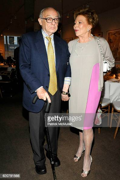 Jimmy Nederlander Jr and Charlene Nederlander attend 'PARTY FAVORS' by Nicole Sexton Book Release Party at Michael's on July 29 2008 in New York City