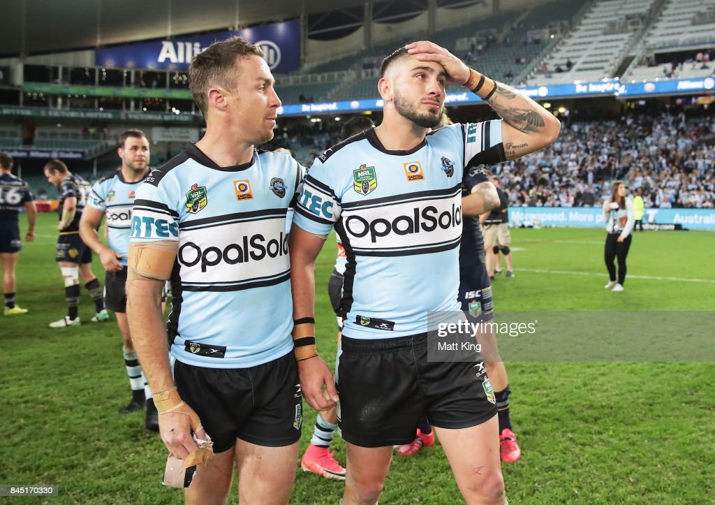 NRL Elimination Final - Sharks v Cowboys