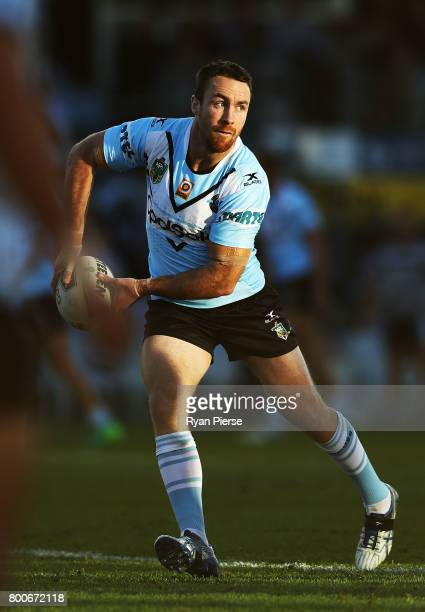 James Maloney of the Sharks warms up before the round 16 NRL match between the Cronulla Sharks and the Manly Sea Eagles at Southern Cross Group...