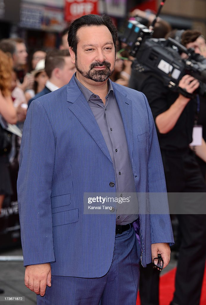 <a gi-track='captionPersonalityLinkClicked' href=/galleries/search?phrase=James+Mangold&family=editorial&specificpeople=619613 ng-click='$event.stopPropagation()'>James Mangold</a> attends the UK premiere of 'The Wolverine' at Empire Leicester Square on July 16, 2013 in London, England.