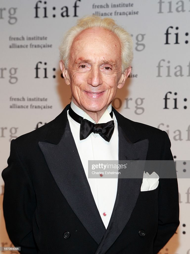 James Marlas attends the 2012 Trophee Des Arts gala at The Plaza Hotel on November 30, 2012 in New York City.