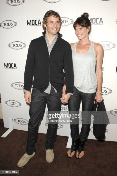 James Marsden and Lisa Linde attend DIEGO DELLA VALLE TOD'S CELEBRATE THEIR NEW BEVERLY HILLS HOME AND WELCOME JEFFREY DEITCH TO LA at TOD'S Beverly...