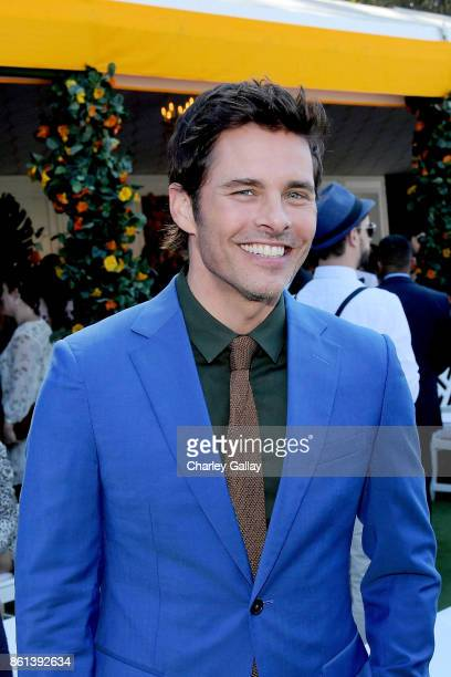James Marsden at the Eighth Annual Veuve Clicquot Polo Classic on October 14 2017 in Los Angeles California