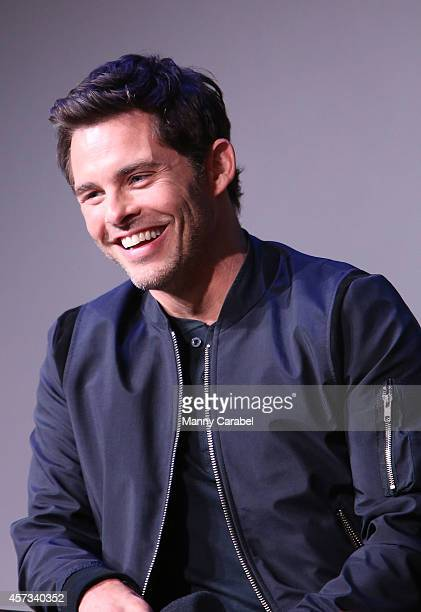 James Marsden attends the Apple Store Soho Presents The Cast of 'The Best of Me' at Apple Store Soho on October 16 2014 in New York City