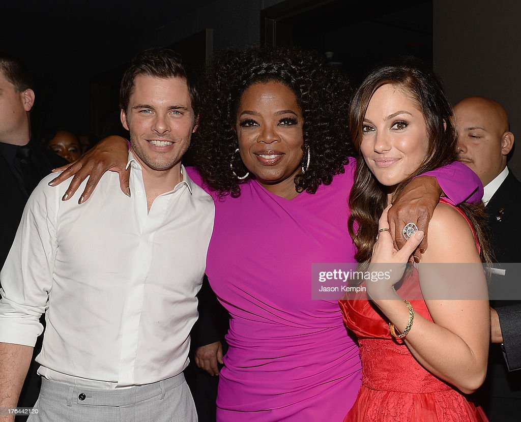James Marsden, Oprah Winfrey and Minka Kelly attend the Los Angeles premiere after-party of 'Lee Daniels' The Butler' at WP24 Restaurant and Lounge on August 12, 2013 in Los Angeles, California.