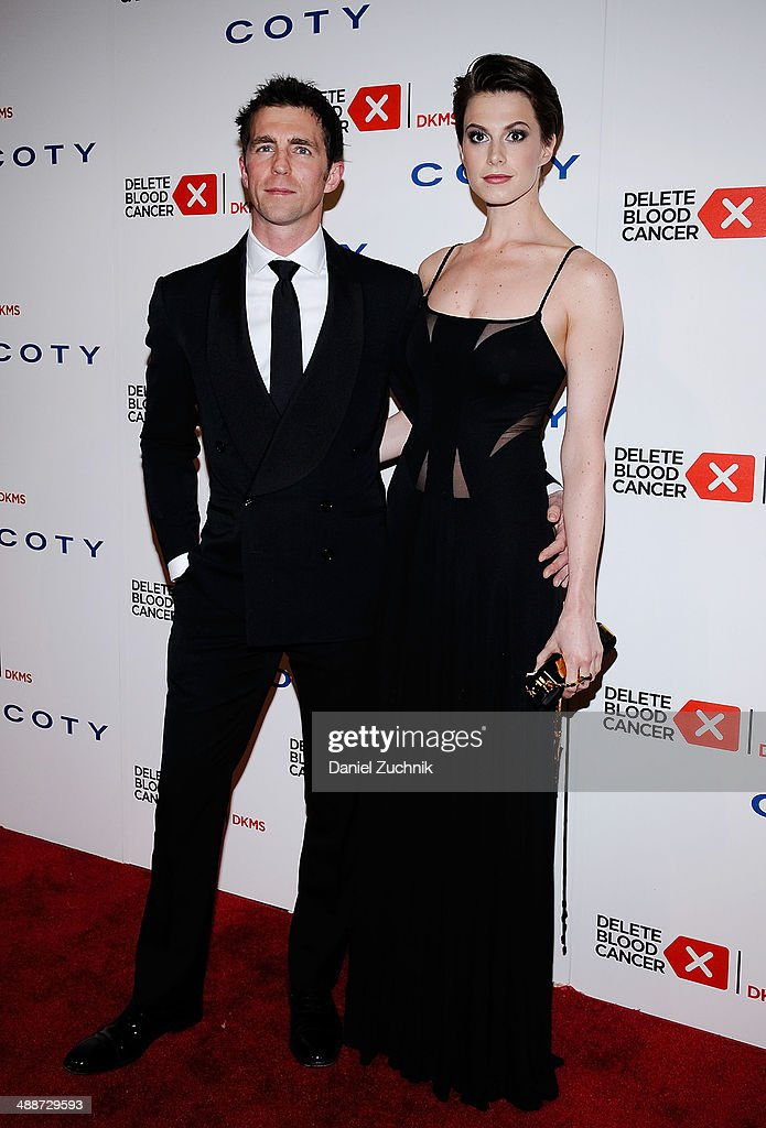 James Marshall and Elettra Wiedemann attend the 2014 Delete Blood Cancer Gala at Cipriani Wall Street on May 7, 2014 in New York City.