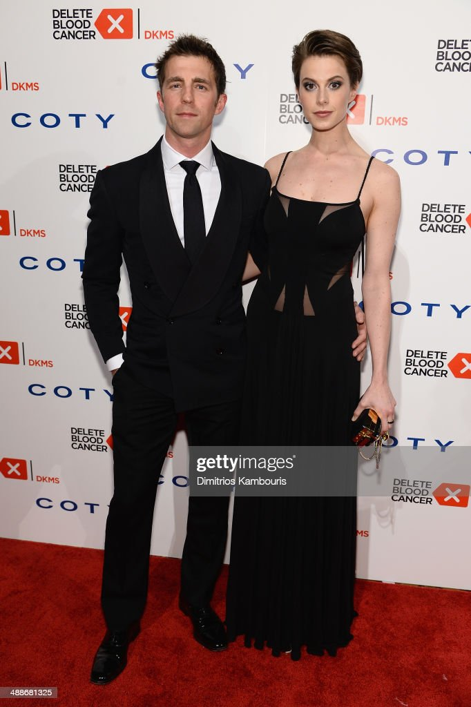 James Marshall and Elettra Wiedemann attends the 2014 Delete Blood Cancer Gala Honoring Evan Sohn and the Sohn Conference Foundation at Cipriani Wall Street on May 7, 2014 in New York City.