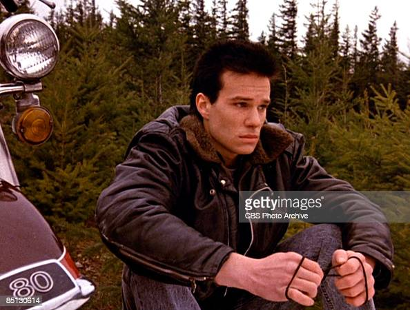 James Marshall as James Hurley from the the pilot episode of 'Twin Peaks' 1990