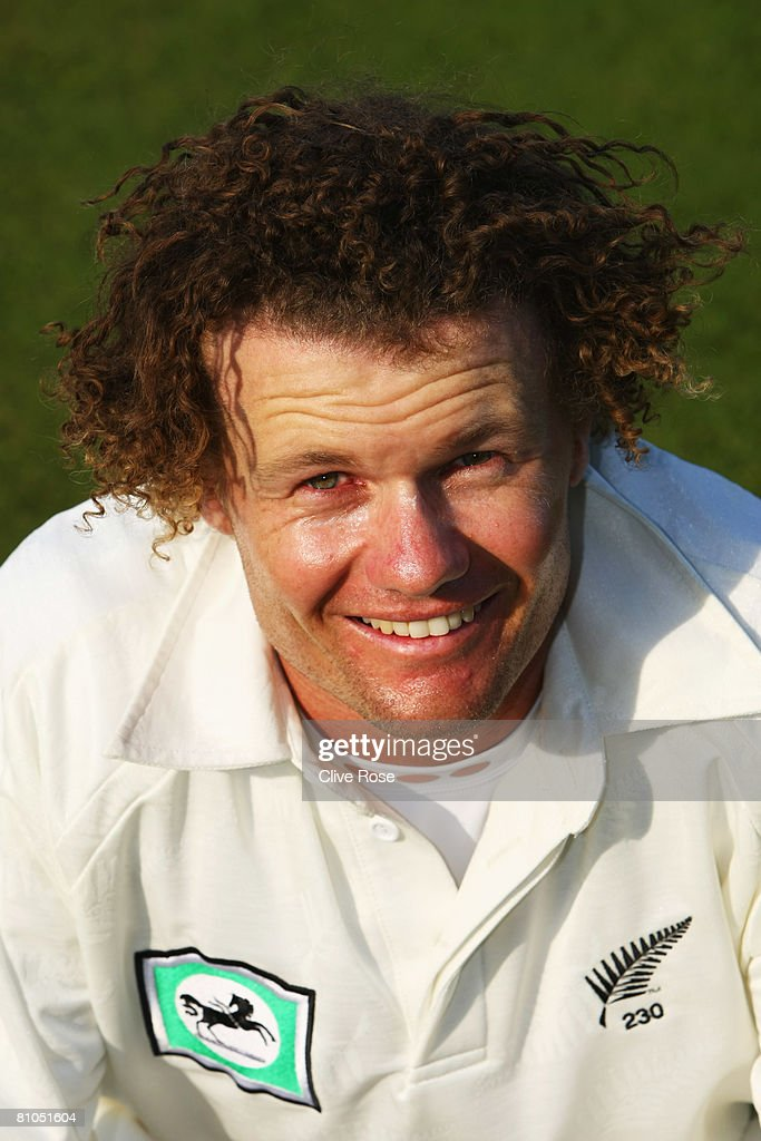 James Marshall of New Zealand during day three of the match between between the England Lions and New Zealand at The Rose Bowl on May 10 2008 in...