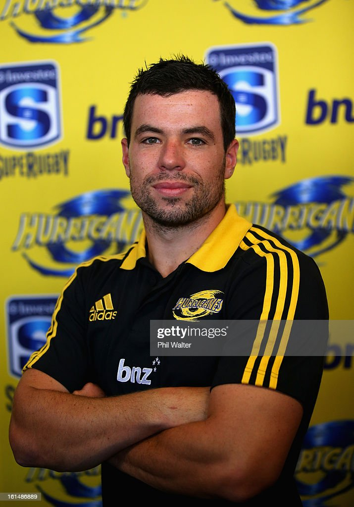 James Marshall of the Hurricanes poses for a portrait during the 2013 Super Rugby Season Launch at the Royal Akarana Yacht Club on February 12, 2013 in Auckland, New Zealand.