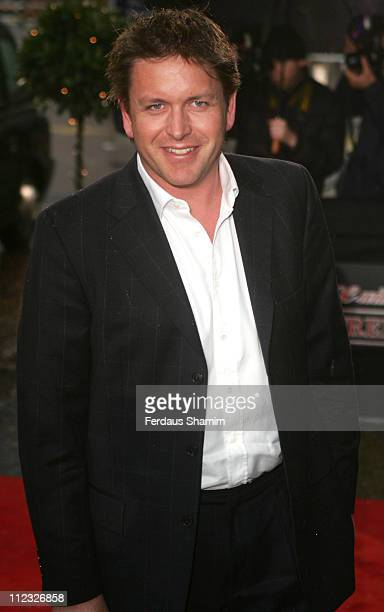 James Martin during An Audience with 'Coronation Street' April 9 2006 at ITV Studios in London Great Britain