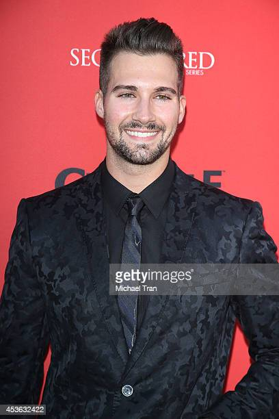 James Maslow arrives at the Crackle Original Series' 'Cleaners' and 'Sequestered' Summer premiere celebration held at 1 OAK on August 14 2014 in West...