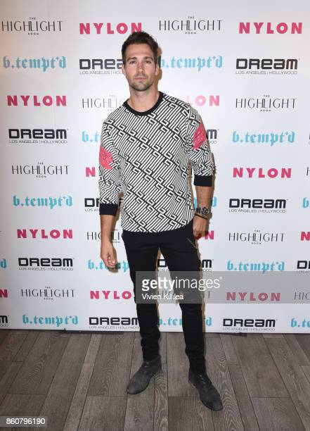 James Maslow attends NYLON's It Girl Party At The Highlight Room At Dream Hollywood on October 12 2017 in Hollywood California