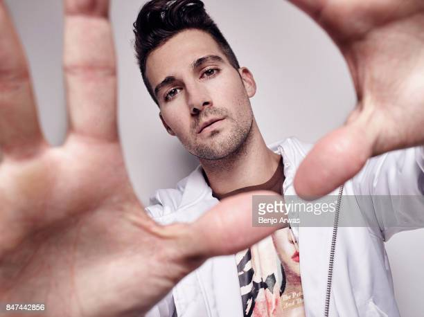James Maslow is photographed for Self Assignment on August 16 2017 in Los Angeles California