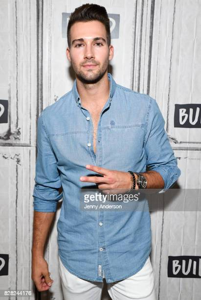James Maslow of Big Time Rush attends AOL Build Series at Build Studio on August 9 2017 in New York City