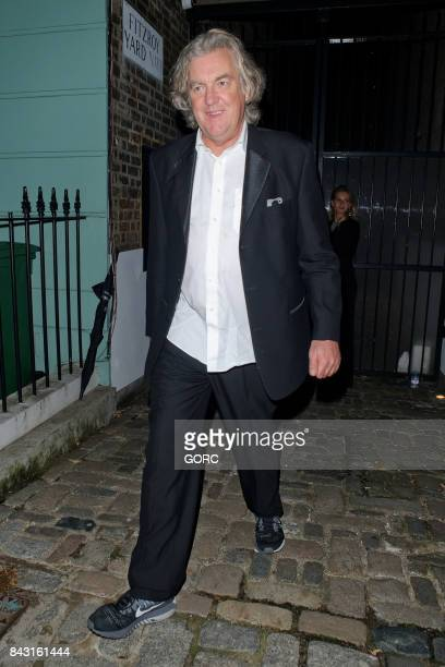 James May at the GQ awards afterparty in Primrose Hill on September 5 2017 in London England