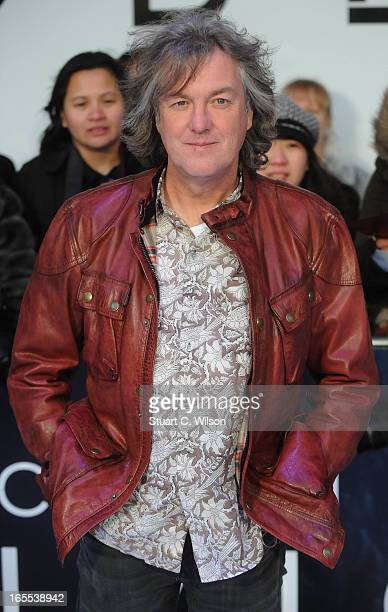 James May attends the UK Premiere of 'Oblivion' at BFI IMAX on April 4 2013 in London England