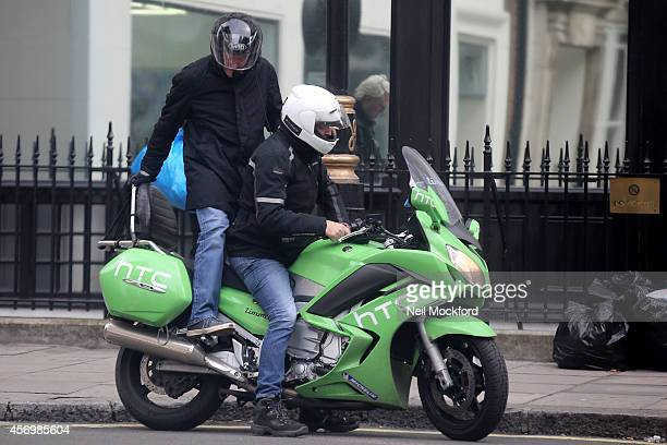 James May seen leaving the Absolute Radio Studios on October 10 2014 in London England