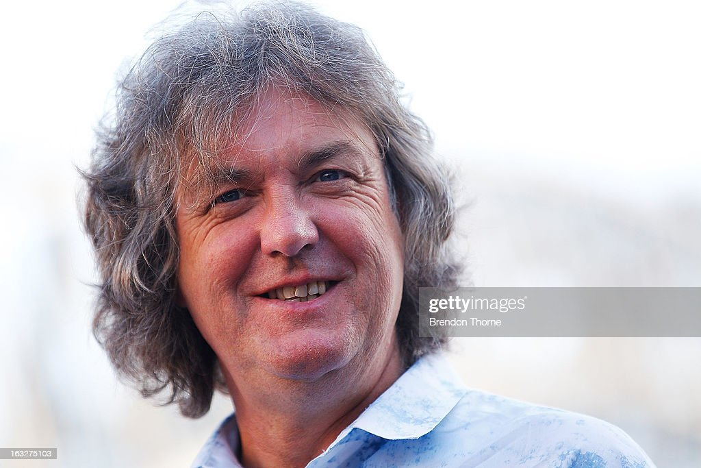 James May speaks with the media at Campbell's Cove Boardwalk ahead of the Inaugural Top Gear Festival Sydney this weekend, on March 7, 2013 in Sydney, Australia.