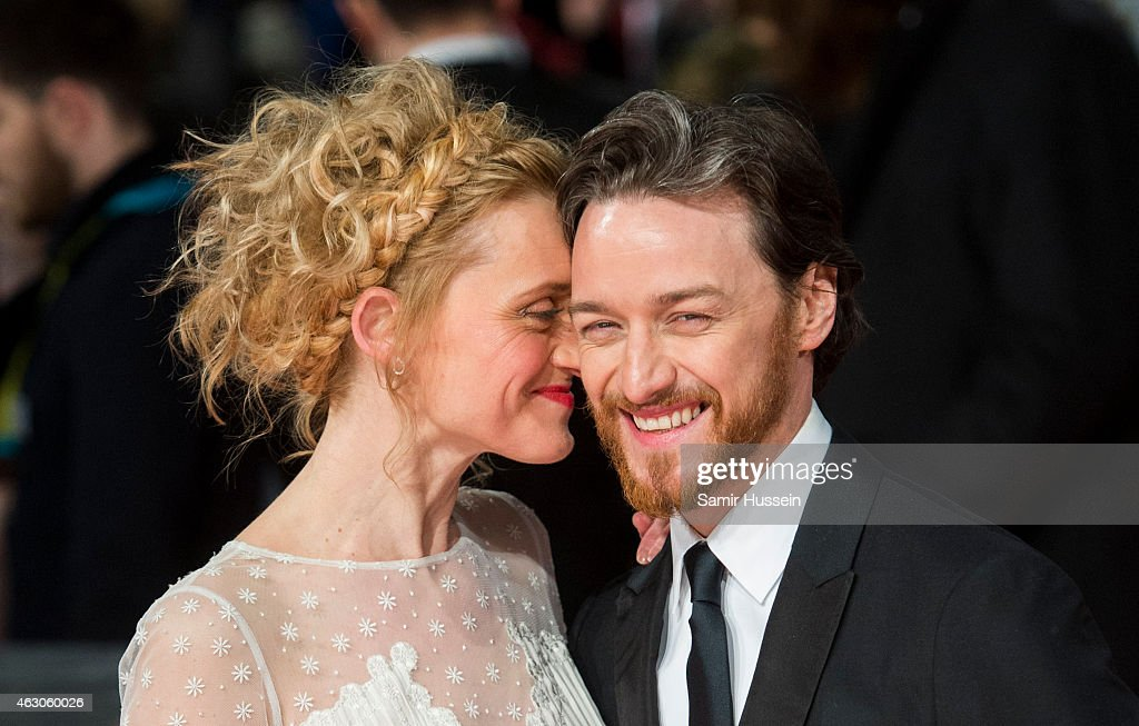 <a gi-track='captionPersonalityLinkClicked' href=/galleries/search?phrase=James+McAvoy&family=editorial&specificpeople=647005 ng-click='$event.stopPropagation()'>James McAvoy</a> and <a gi-track='captionPersonalityLinkClicked' href=/galleries/search?phrase=Anne-Marie+Duff&family=editorial&specificpeople=645878 ng-click='$event.stopPropagation()'>Anne-Marie Duff</a> attend the EE British Academy Film Awards at The Royal Opera House on February 8, 2015 in London, England.