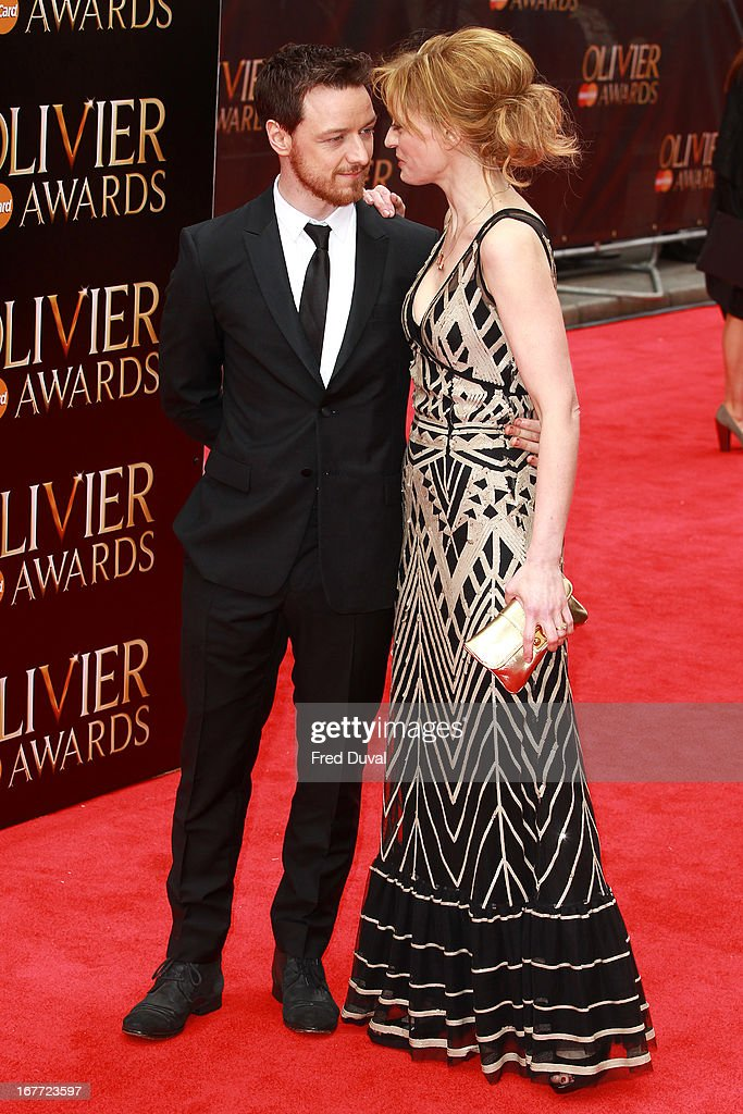 <a gi-track='captionPersonalityLinkClicked' href=/galleries/search?phrase=James+McAvoy&family=editorial&specificpeople=647005 ng-click='$event.stopPropagation()'>James McAvoy</a> and <a gi-track='captionPersonalityLinkClicked' href=/galleries/search?phrase=Anne-Marie+Duff&family=editorial&specificpeople=645878 ng-click='$event.stopPropagation()'>Anne-Marie Duff</a> attends The Laurence Olivier Awards at The Royal Opera House on April 28, 2013 in London, England.