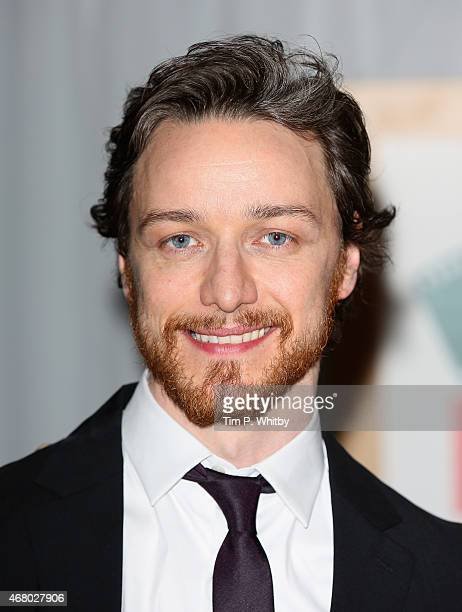 James McAvoy at the Jameson Empire Awards 2015 at the Grosvenor House Hotel on March 29 2015 in London England