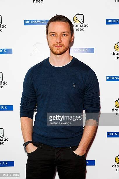 James McAvoy attends 'The Children's Monologues' Danny Boyle's production inspired by children from rural South Africa in aid of his charity...