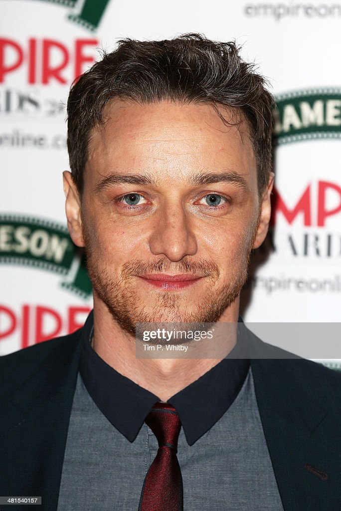 <a gi-track='captionPersonalityLinkClicked' href=/galleries/search?phrase=James+McAvoy&family=editorial&specificpeople=647005 ng-click='$event.stopPropagation()'>James McAvoy</a> attends the Jameson Empire Awards 2014 at the Grosvenor House Hotel on March 30, 2014 in London, England. Regarded as a relaxed end to the awards show season, the Jameson Empire Awards celebrate the film industry's success stories of the year with winners being voted for entirely by members of the public. Visit empireonline.com/awards2014 for more information.