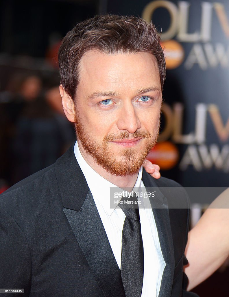 James McAvoy attends The Laurence Olivier Awards at The Royal Opera House on April 28, 2013 in London, England.