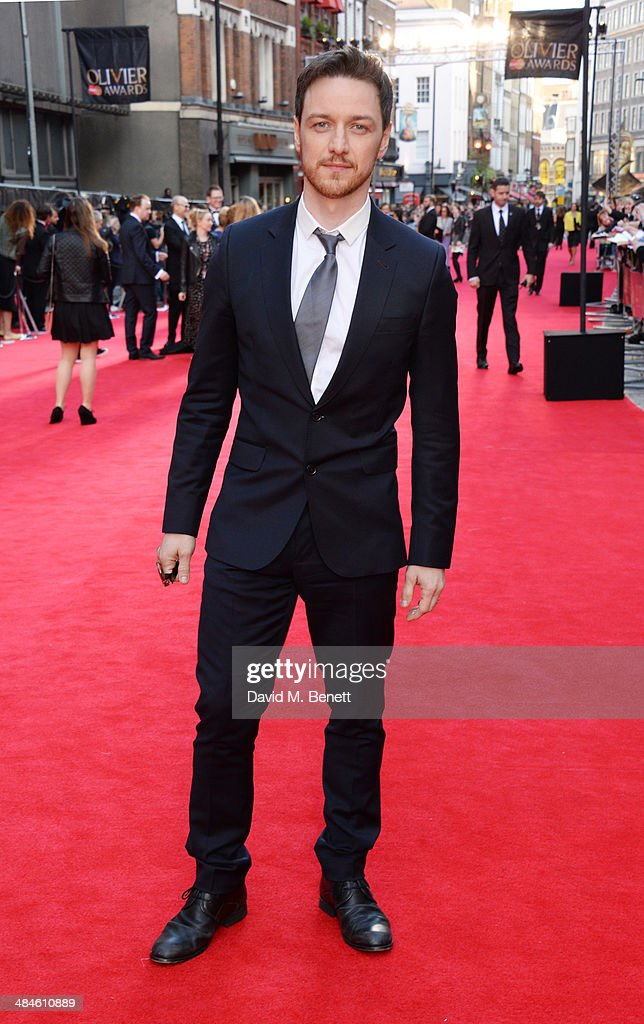 <a gi-track='captionPersonalityLinkClicked' href=/galleries/search?phrase=James+McAvoy&family=editorial&specificpeople=647005 ng-click='$event.stopPropagation()'>James McAvoy</a> attends the Laurence Olivier Awards at The Royal Opera House on April 13, 2014 in London, England.