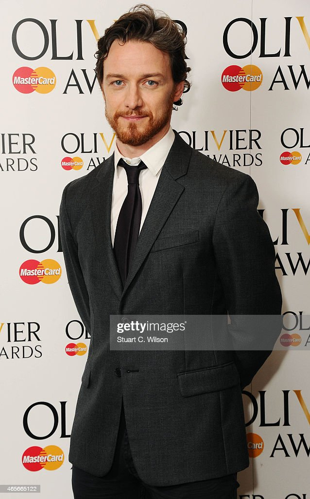 <a gi-track='captionPersonalityLinkClicked' href=/galleries/search?phrase=James+McAvoy&family=editorial&specificpeople=647005 ng-click='$event.stopPropagation()'>James McAvoy</a> attends the nominations photocall for the Olivier Awards at Rosewood London on March 9, 2015 in London, England.