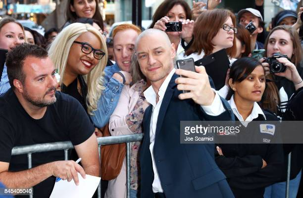 James McAvoy attends the 'Submergence' premiere during the 2017 Toronto International Film Festival at The Elgin on September 10 2017 in Toronto...
