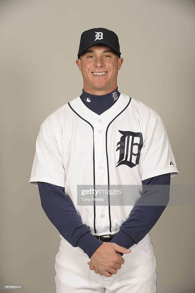 James McCann #81 of the Detroit Tigers poses during Photo Day on February 19, 2013 at Joker Marchant Stadium in Lakeland, Florida.