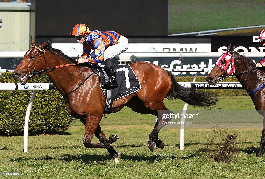 James McDonald rides As Needed during Sydney Racing at Royal Randwick Racecourse on August 9, 2014 in Sydney, Australia.
