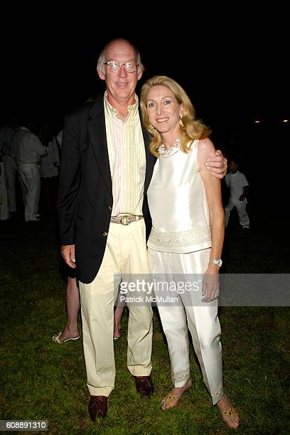 James McNaughton and Sacha Mcnaughton attend ULLA KEVIN PARKER Host White End Of Summer Party at Parker/Private Residence on August 31 2007