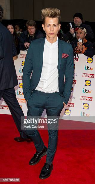 James McVey attends the Pride of Britain awards at The Grosvenor House Hotel on October 6 2014 in London England