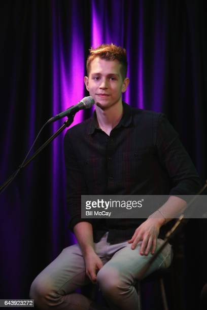 James McVey of The Vamps performs at Q102 Performance Theater February 22 2017 in Bala Cynwyd Pennsylvania