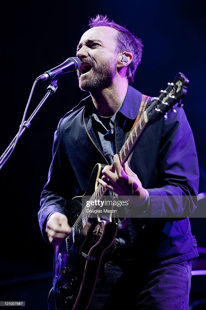 James Mercer of The Shins performs at the Outside Lands Music Festival on August 12, 2011 in San Francisco, California.