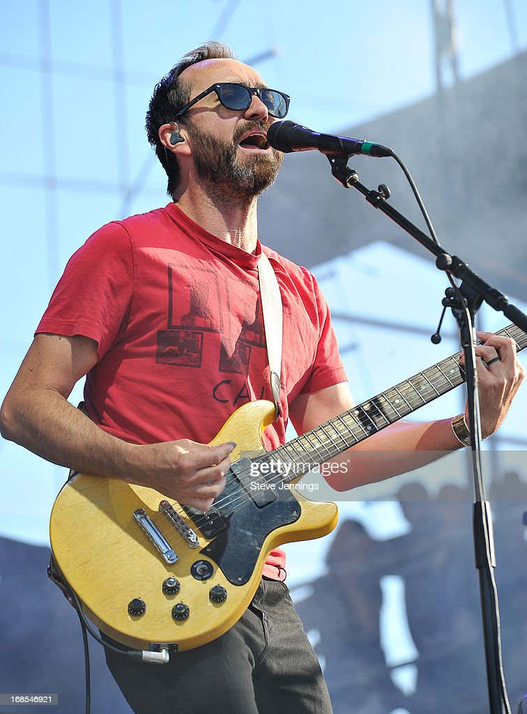 <a gi-track='captionPersonalityLinkClicked' href=/galleries/search?phrase=James+Mercer&family=editorial&specificpeople=1295852 ng-click='$event.stopPropagation()'>James Mercer</a> of The Shins performs on Day 2 of Bottle Rock Napa Valley Festival at Napa Valley Expo on May 10, 2013 in Napa, California.