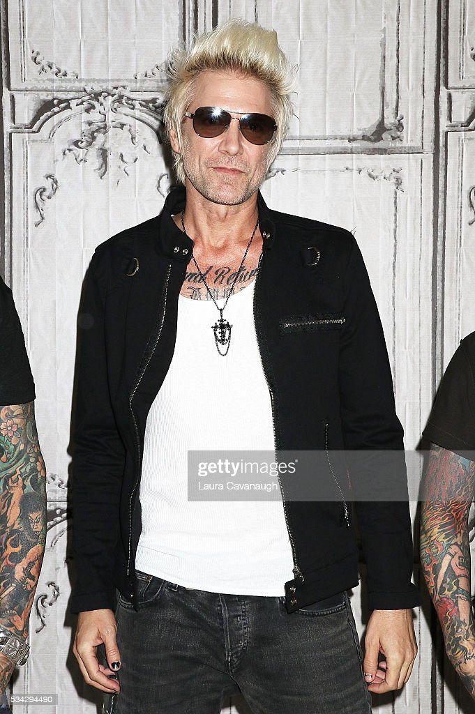 James Michael attends AOL Build Speaker Series to discuss Sixx:A.M. 'Prayers For The Damned Vol 1' at AOL Studios In New York on May 25, 2016 in New York City.