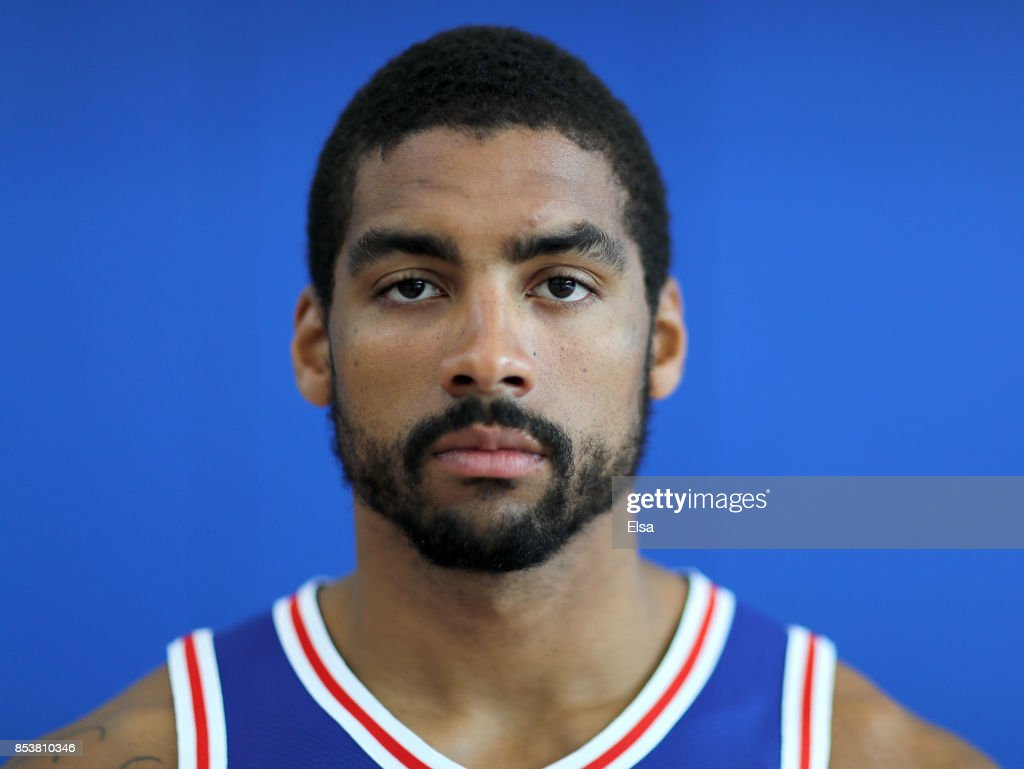 James Michael McAdoo #14 of the Philadelphia 76ers poses for a portrait during the Philadelphia 76ers Media Day on September 25, 2017 at the Philadelphia 76ers Training Complex in Camden, New Jersey.NOTE